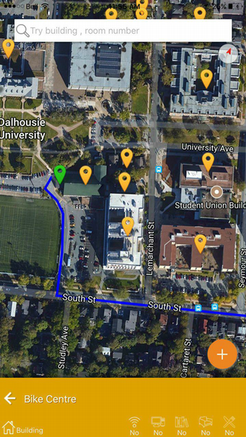 University Campus WayFinding App