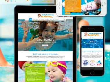 Baby Swimming Website