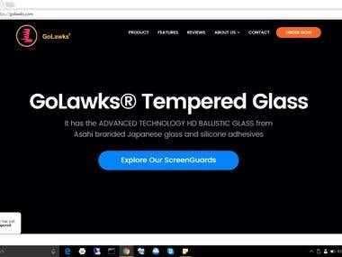 GoLawks - Ecommerce Website