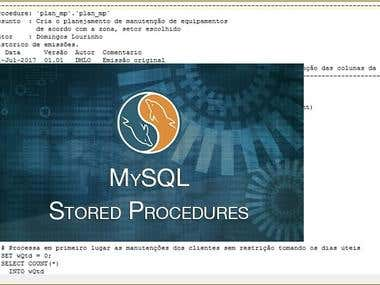 Maintenance Planning Stored Procedure