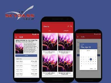 SKYPASS Events App