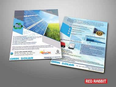Flyers and Brochure