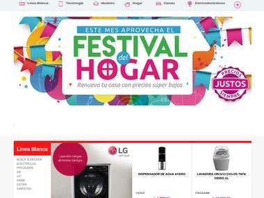 LadyLee Website & Shopping Cart