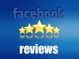 Facebook 5* Review/Ratings