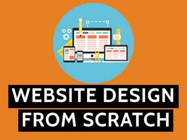 Website design from Scratch