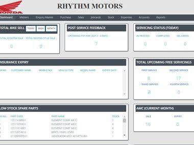 Automobile Management Software & ERP