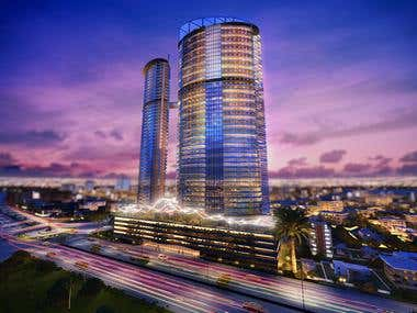 3D Design for Palmyra Towers
