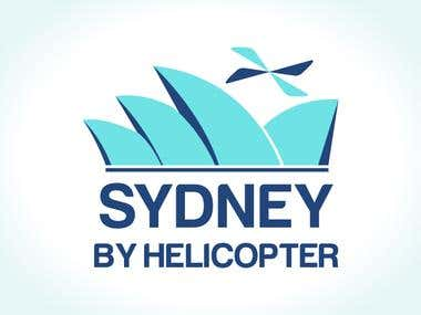 Logo Design for Sydney By Helicopter