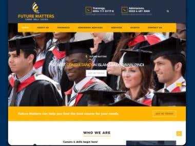 Educative Consultancy Website