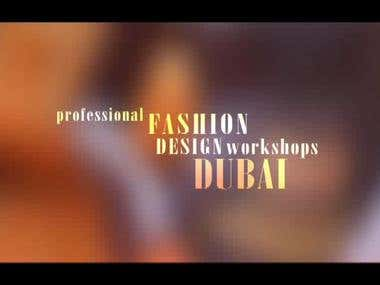 Fashion Designers show reel, intro for youtube