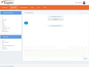 Customer Relationship Management System - Kaptec