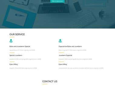 HTML5 Animated template
