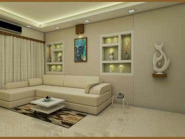 Living area interior