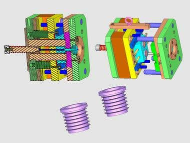 CAD/CAM - Cavity mold engineering