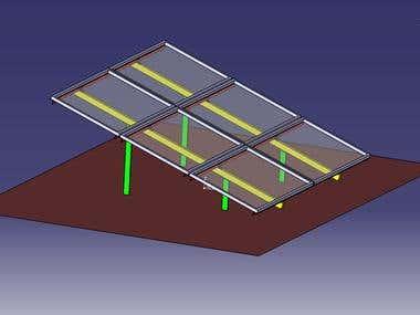 Solar panel 2x2