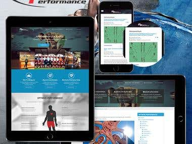 Sport Services Website