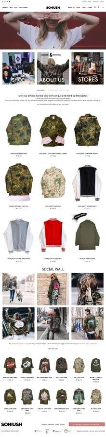 Clothes Shop Online Store