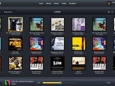 AudioBeats Website Design