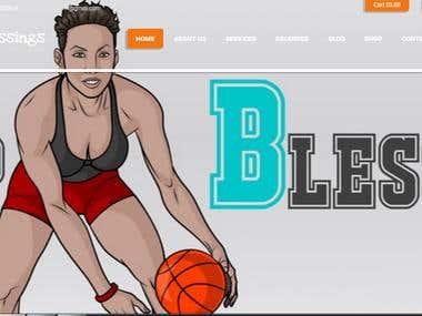 Basketball Caoching web