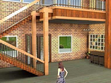 Model 3D architecture design
