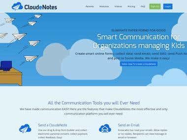 CloudeNotes