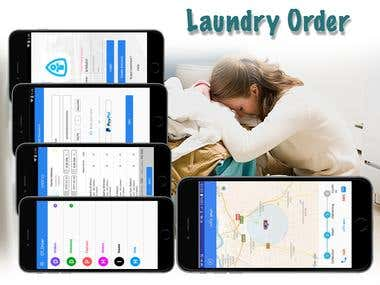 Daundry Order-Delivery App