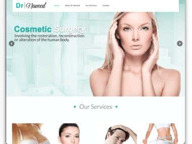 Cosmetic Surgery Clinic - Website Creation