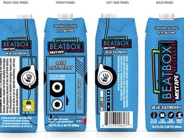labels & packaging designs