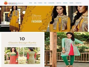 Online Designed Cloth Seller