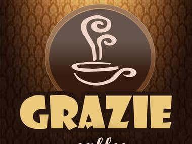 design 1 for logo Grazie cafe