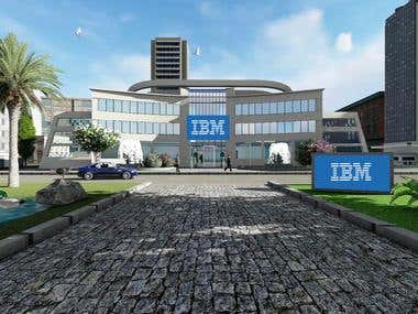 IBM Office 3D Model