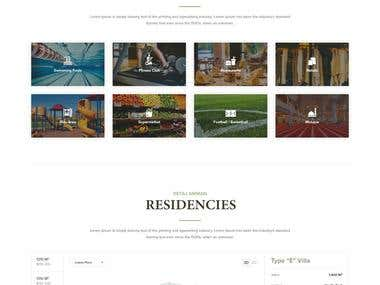 Home Page Design