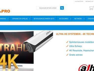 Camera Website