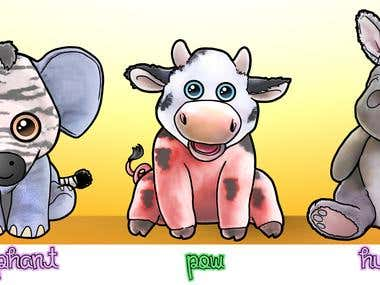 Plush toy concept designs