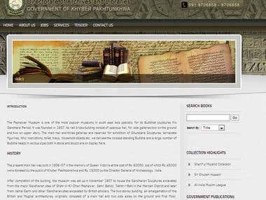 Archives Library Website