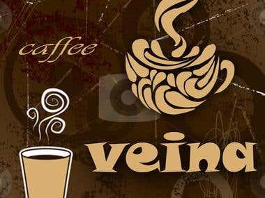 logo design 2 for Veina cafe