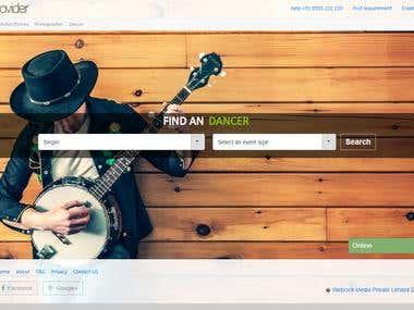 Artist provider
