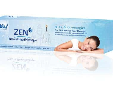 ZEN Natural Head Massager