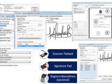 Sistema de Captura, Administración y Distribución de Firmas