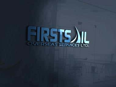 FirstSail Logo Design