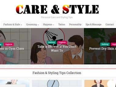 Web Design with Amazon Affiliate products