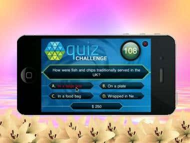 Quiz mobile app.