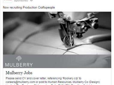 Mulberry Paid Advertisement