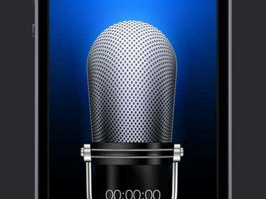 Voice recording and recognizing App
