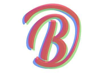 "GREEN BLUE RED ""B"""