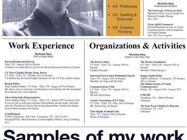 Newspaper Resume