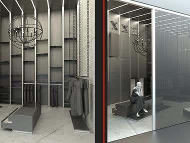 Shop design concepts