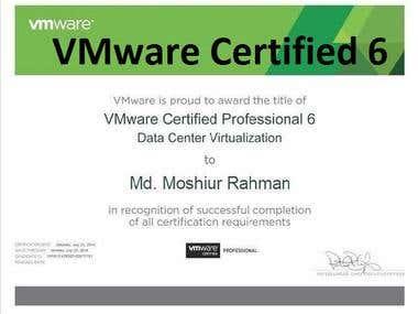 VMware Certified VCP6-DCV