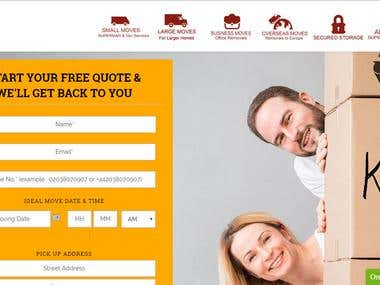 Design Website for Supermanwithavan.com using WordPress