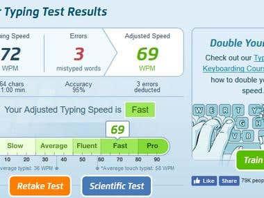 Typing Speed